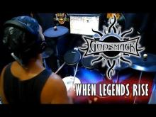 Embedded thumbnail for When Legends Rise - Godsmack drum cover
