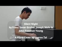 Embedded thumbnail for Franz Xaver Gruber, Joseph Mohr & John Freeman Young - Silent Night | Piano Cover by Leeron Tai (Improvised)