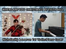 Embedded thumbnail for Faith Hill - Where Are You Christmas? | Violin & Piano Cover | Nicholaslkj & Leeron Tai Cover