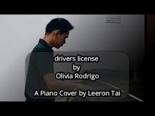 Embedded thumbnail for Olivia Rodrigo - drivers license | Piano Cover (Improvised) by Leeron Tai