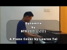 Embedded thumbnail for BTS (방탄소년단) -  Dynamite | Piano Cover by Leeron Tai (Improvised)